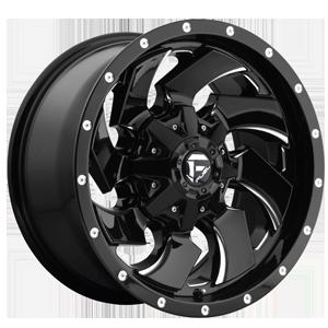 Cleaver Gloss Black Fuel Rim - Sin City Rims