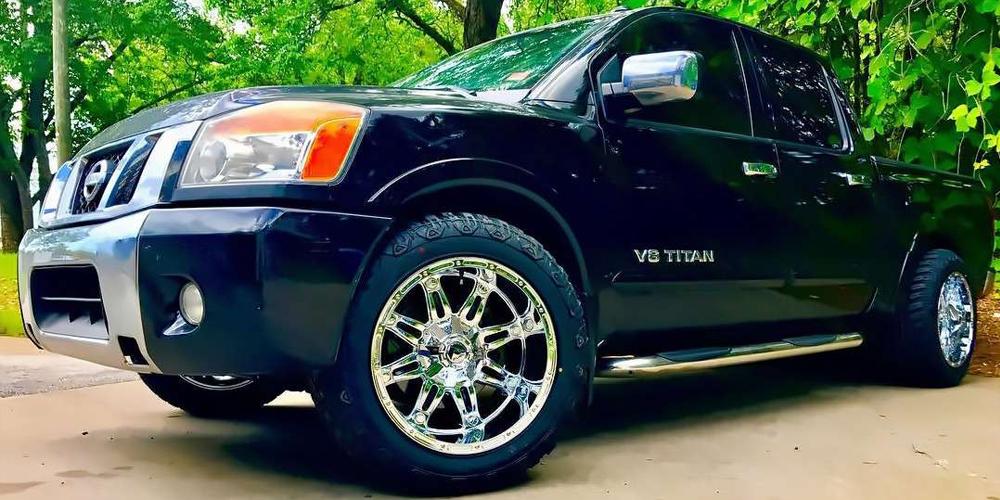 Fuel Nissan - Sin City Rims