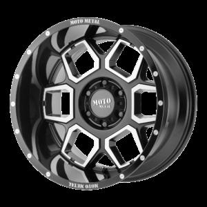 SPADE 22x12 5x127 GLOSS BLACK MACHINED-MO98122250344N