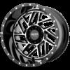BREAKOUT 16x8 6x120 GLOSS BLACK MACHINED-MO98568077306N