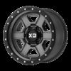 FUSION OFF-ROAD 18x9 8x165.1 SATIN GRAY W/ S-BLK LIP-XD13389080400