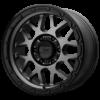 GRENADE OR 18x8.5 5x139.7 MATTE GRAY W/ MATTE BLACK LIP-XD13588585400