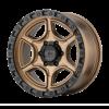 PORTAL 18x8.5 6x120 SATIN BRONZE W/ SATIN BLACK LIP-XD13988577618