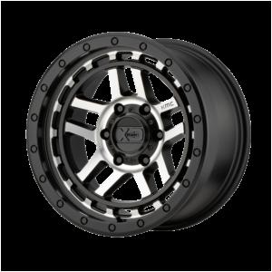 RECON 18x8.5 6x120 SATIN BLACK MACHINED-XD14088577518