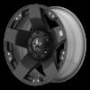ROCKSTAR 18x9 8x170 MATTE BLACK-XD77589087300