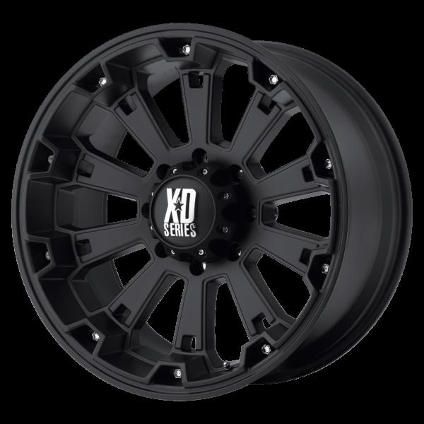 MISFIT 18x9 8x180 MATTE BLACK-XD80089088700