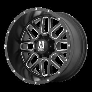 GRENADE 18x9 8x180 SATIN BLACK MILLED-XD82089088918